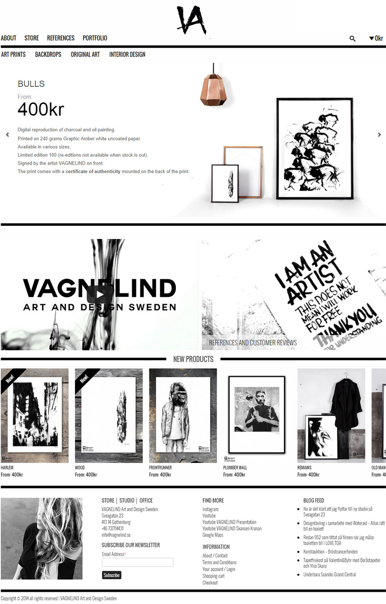 VAGNELIND website launching