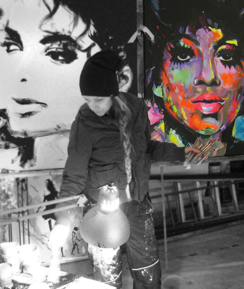vagnelind painting diana ross