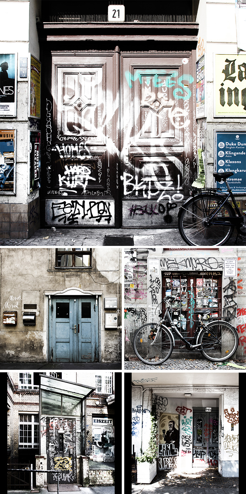 vagnelind photogaphing doors in berlin