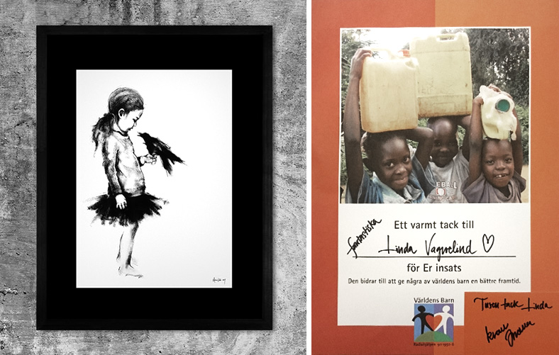 vagnelind bidrag till världens barn