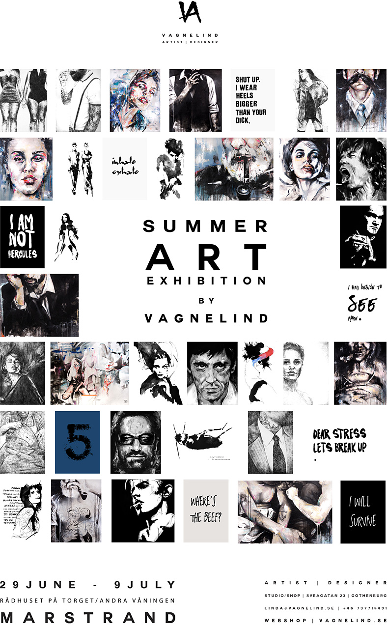 vagnelind marstrand exhibition 2015