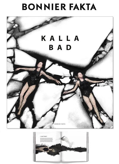 VAGNELIND gör boken KALLA BAD med Bonnier Fakta