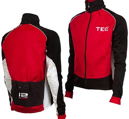 vagnelind design tec basic winter jacket red