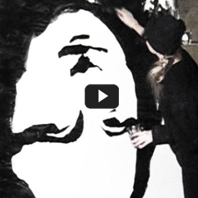 vagnelind painting live upside down monalisa