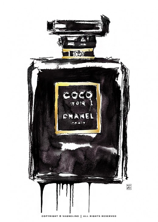 vagnelind-art-coco-chanel