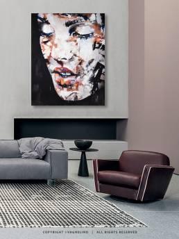 VAGNELIND Painting - SWEETBOMB