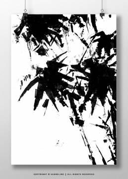 vagnelind ink drawing - Palm