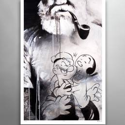 VAGNELIND Limited Fine Art Edition - POPEYE