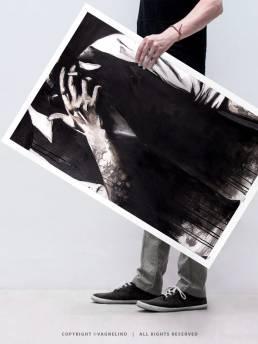 VAGNELIND Limited Fine Art Edition - SMOKING