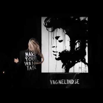 vagnelind painting Prince live upside down