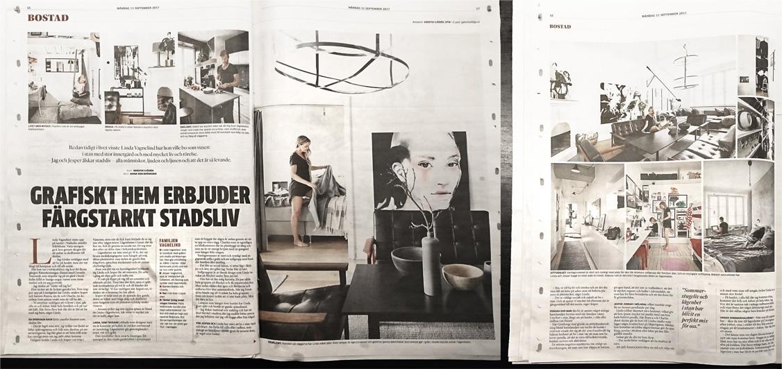 En artikel om Vagnelind i Göteborgs Posten
