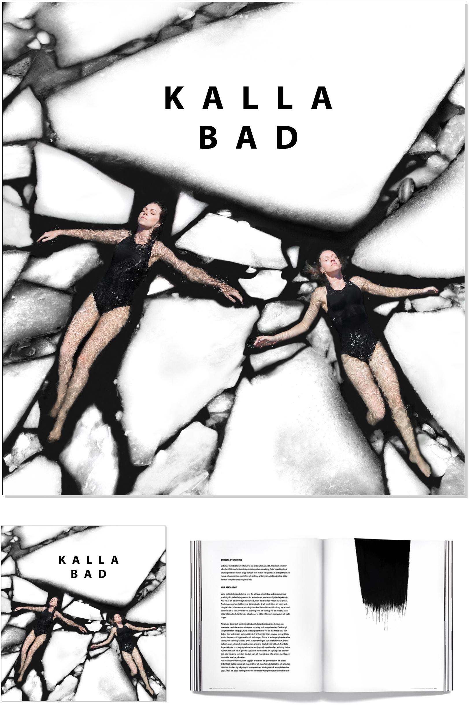 VAGNELIND bok med Bonnier KALLA BAD 2018