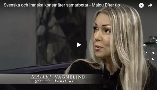 VAGNELIND at Malou efter tio 2018