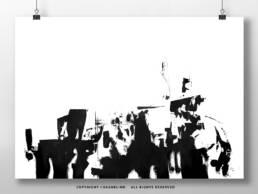 vagnelind art - kalla bad - contrast