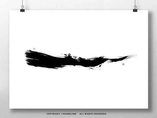 vagnelind art - kalla bad - simplicity