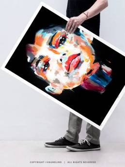 VAGNELIND Limited Fine Art Edition - KALI