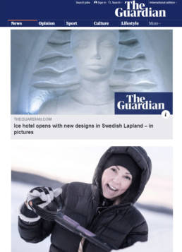 vagnelind artist icehotel the guardian