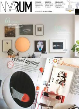 vagnelind konstnär i tidningen nya rum