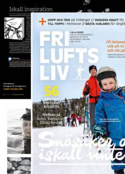 vagnelind konstnär och fotograf i tidningen friluftsliv om kalla bad