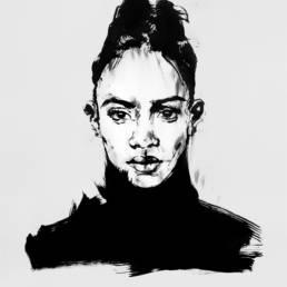 vagnelind art individual woman