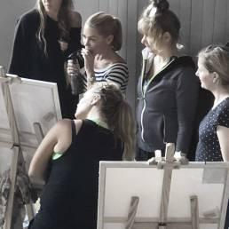 Vagnelind artist creative workshops