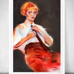 VAGNELIND Limited Fine Art Edition - AMBER