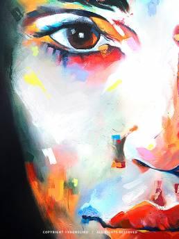 VAGNELIND Oil Painting - EMERALD