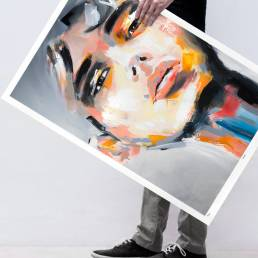 VAGNELIND Limited Fine Art Edition - OTTOMAN