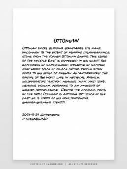 VAGNELIND Art print - Line Bozetto - Ottoman