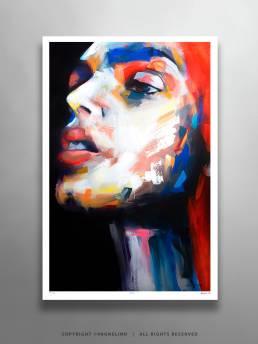 VAGNELIND Limited Fine Art Edition - ROBIN