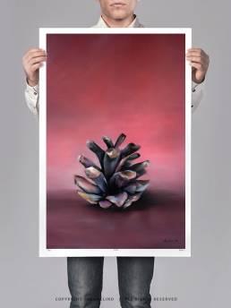 VAGNELIND Limited Fine Art Edition - STROBILUS CORAL