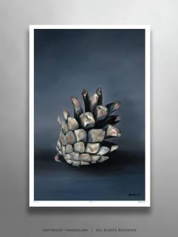 VAGNELIND Limited Fine Art Edition - STROBILUS SKY