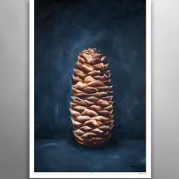 VAGNELIND Limited Fine Art Edition - STROBILUS PRUSSIAN