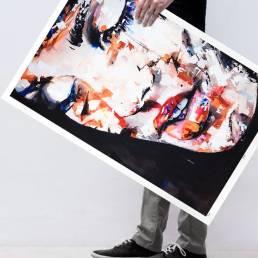 VAGNELIND Limited Fine Art Edition - SWEETBOMB