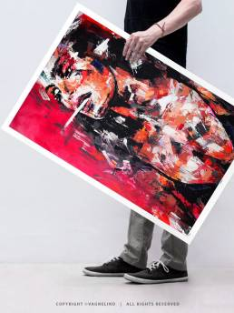 VAGNELIND Limited Fine Art Edition - YOUR STORY
